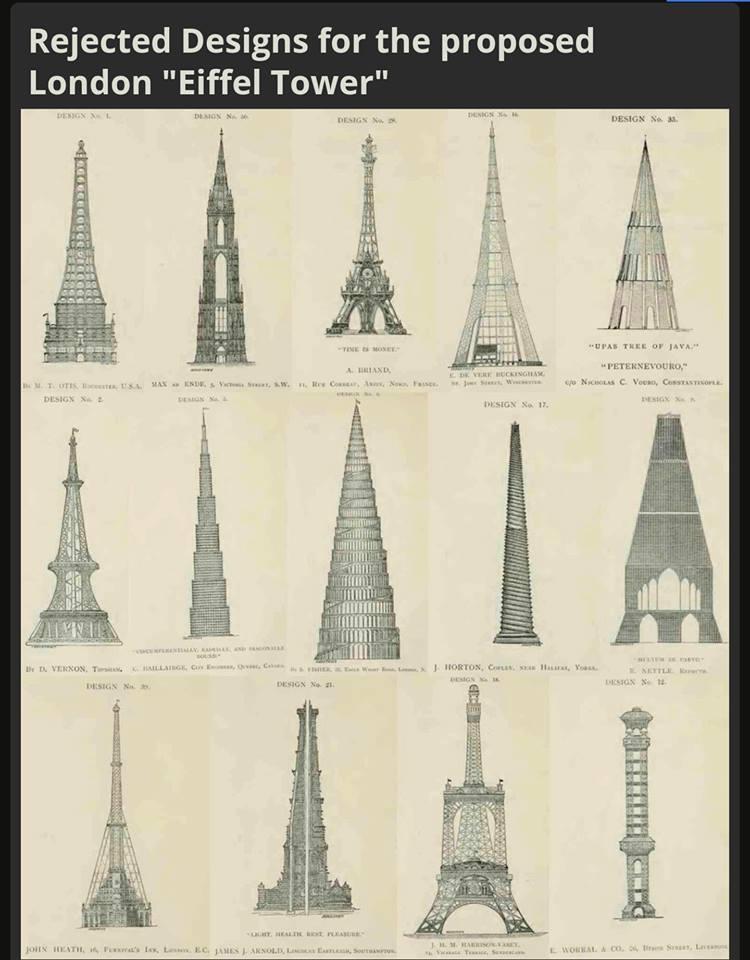 تصاميم برج ايفل البريطانى