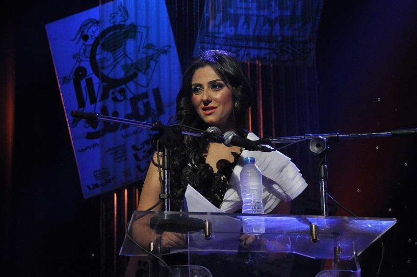 حنان مطاوع تقدم حفل افتتاح المهرجان القومى للسينما