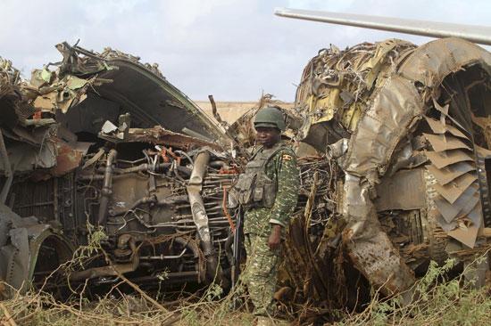 صور الطائرة المصرية التى تحطمت فى الصومال