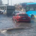 غرق شوارع الاسكندرية