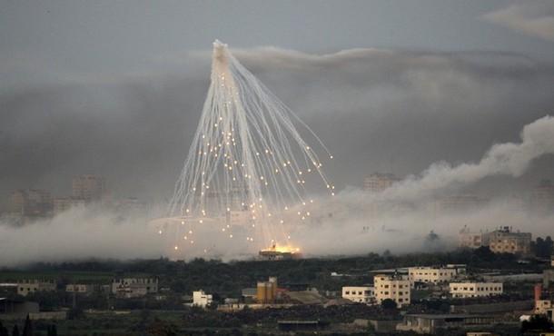 قنابل عنقودية