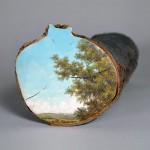 لوحات على جذوع الاشجار  6