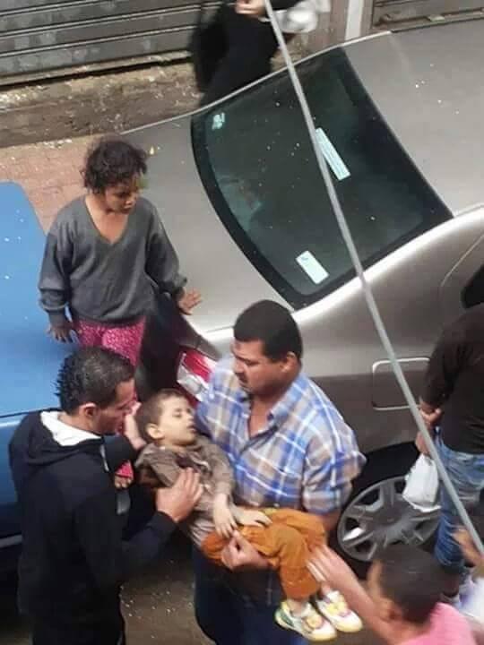 طفل إسكندرية