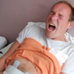 رجال تجرب آلام الولادة