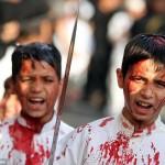 """احتفالات الشيعة بـ""""يوم عاشوراء"""""""