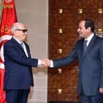 السيسى والرئيس التونسى يشهدان احتفالات ذكرى أكتوبر