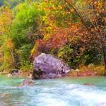 بالصور.. نهر إبراهيم.. سحر الطبيعة ولذة العشق فى لبنان