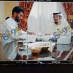 حسن حسنى خلال تصوير فيلم أضحى فى أبو ظبى