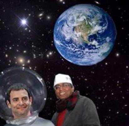 ابو عبير ورائد الفضاء