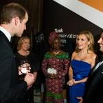 الامير وليام يتحدث مع كاثرين جينكينز
