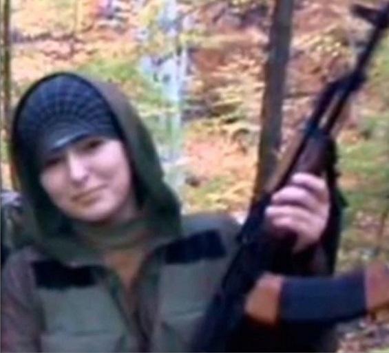 الانتحارية الشيشانية هوى باراييف