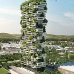 البرج المغطى بالنباتات