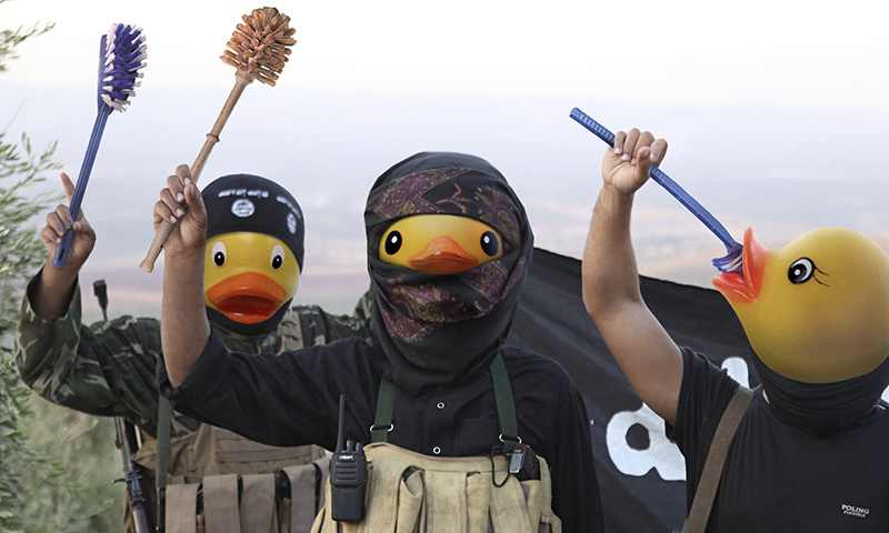 البط وداعش