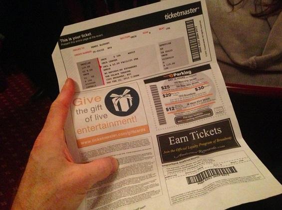 التذاكر