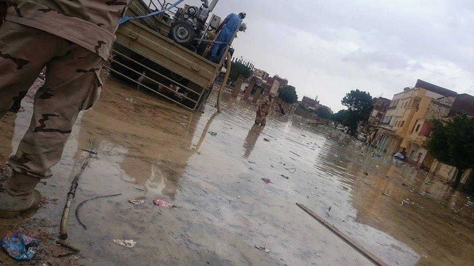 الجيش ومياه المطر