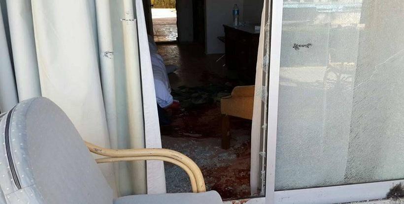 الصور الاولى للهجوم على فندق العريش