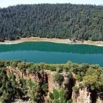 بحيرة أكلمام أزكزا من الجهة الشرقية