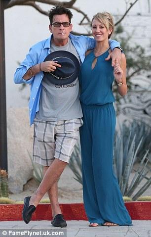 تشارلى تشين مع سكوتى روسى عام 2013