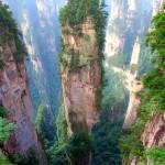 جبل تيانزى الصين