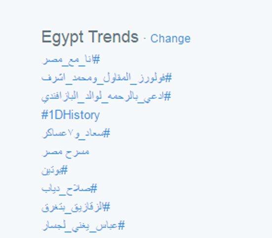 هاشتاج انا مع مصر