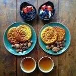 وجبة الافطار الشهيرة
