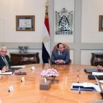 اجتماع الرئيس السيسى مع مجلس علماء مصر