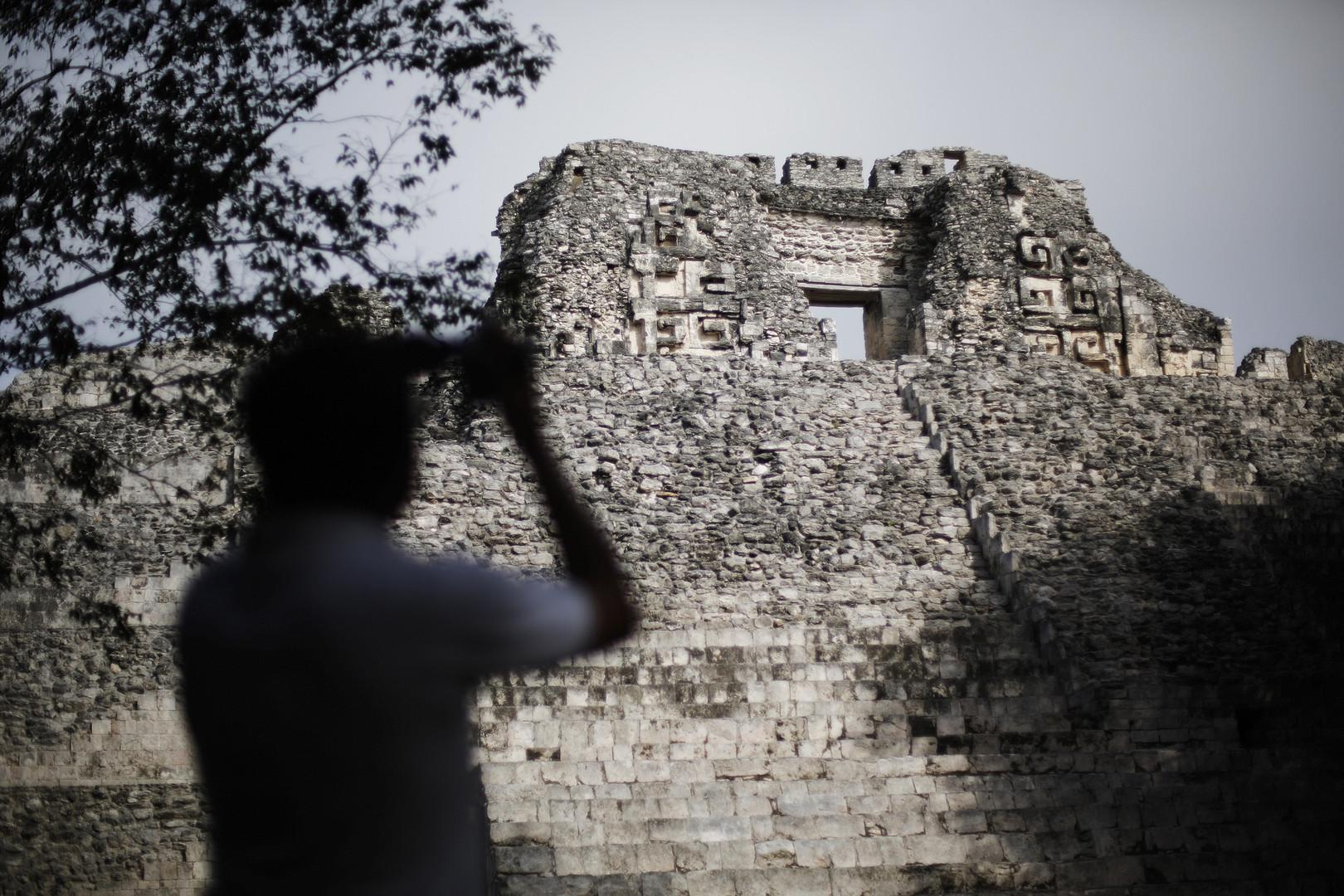 أحد صروح حضارة المايا فى المكسيك