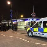 الشرطة تحيط بمحطة المترو عقب الحادث