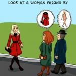 الفوارق بين الرجل و المرأة  - الاعجاب