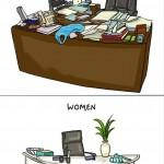 الفوارق بين الرجل و المرأة - المكتب