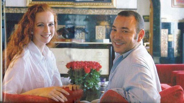 الملك محمد السادس وزوجته لالا سلمى