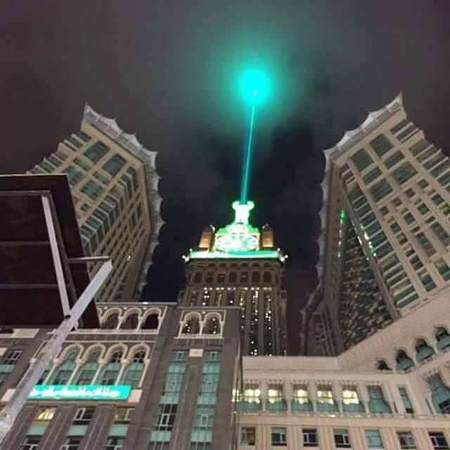 برج ساعة الحرم المكى