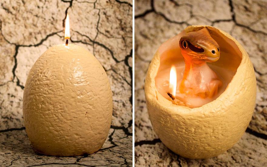 بيضة ديناصور بتنور