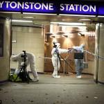 تفتيش محطة المترو عقب حادثة الطعن