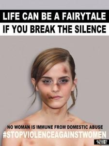 حملة ضد العنف العائلى
