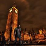 ساعة بج بن فى قلب لندن