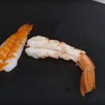 سوشى على شكل سمك
