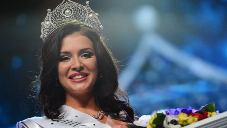صوفيا نيكيتشوك الوصيفة الأولى لملكة جمال العالم 2015