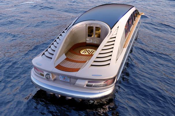 السيارة البرمائية