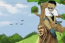 الولد وشجرة التفاح