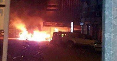 انفجار بشارع الهرم