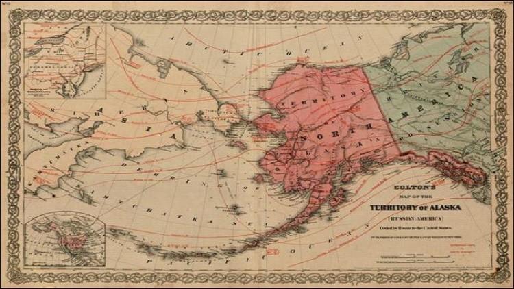 خريطة لاسكا