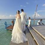 زفاف داخل المحيط