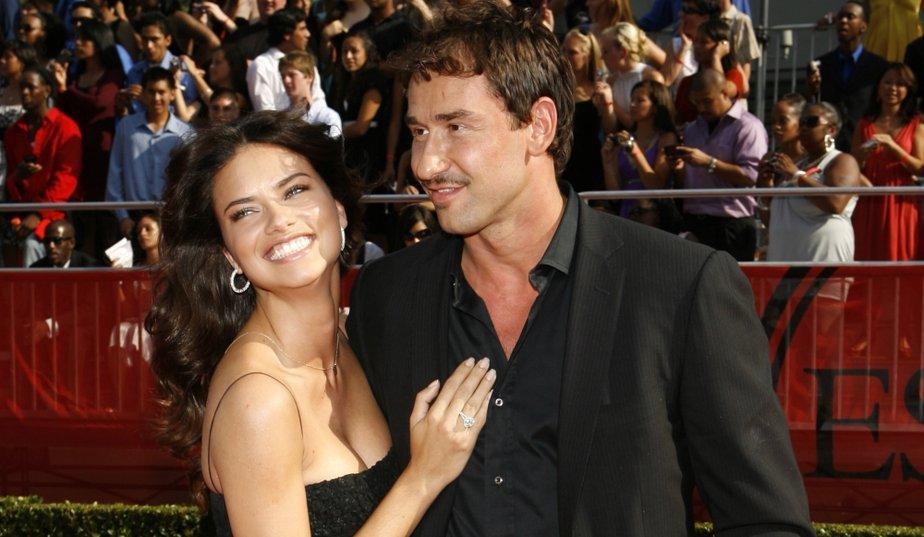 ادريانا ليما و زوجها