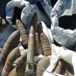 الجيش يضبط كميات من الذخيرة والمتفجرات بوسط سيناء