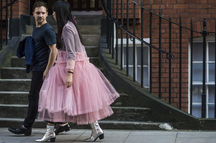 الفستان الواسع