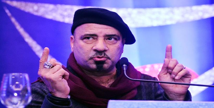 محمد سعد فى المؤتمر الصحفى