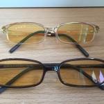 نظارة لحماية العين من المحمول