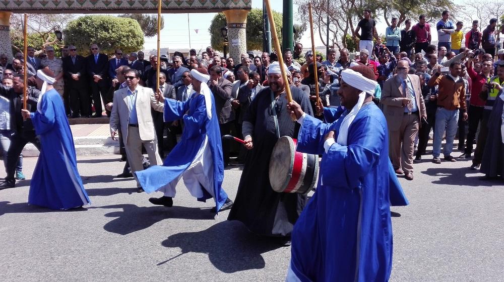 احتفالات العيد القومى للمنيا