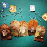 اكياس الشاى لوحات فنية